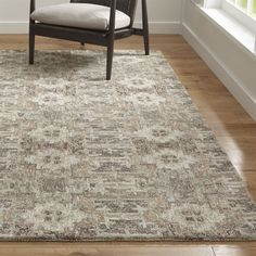 Impressionist oriental lets the eye combine small dots of contrasting color, blending together into a painterly pattern of soft neutrals. Master artisans use a mix of handspun natural wool, Argentinian semi-twist wool and viscose yarns, micro tufting them into an exceedingly resilient rug.Shop all patterned rugs
