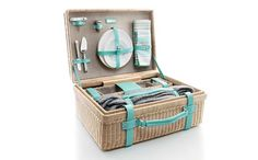 Love the Tiffany & Co. Central Park Wicker Picnic Basket as seen on @UrbanMommies by Jill Amery