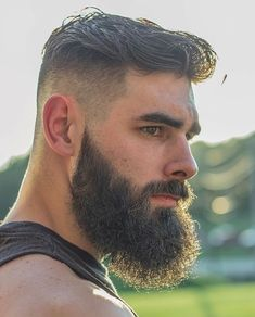 Haircut Men Balding Beard Styles Ideas For 2019 Haircuts Straight Hair, Trendy Mens Haircuts, Cool Haircuts, Haircut Short, Great Beards, Awesome Beards, Beard Styles For Men, Hair And Beard Styles, Bart Styles