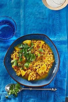 Rote - Linsen - Curry, ein sehr schönes Rezept aus der Kategorie Hülsenfrüchte. Bewertungen: 172. Durchschnitt: Ø 4,4.