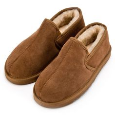 782cc0fa83be Extra Thick Luxurious Sheepskin Slippers with hard wearing lightweight sole  in Chestnut Brown Extra thick sheepskin. Also available with soft suede sole .