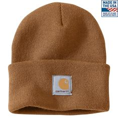 Shop the Acrylic Watch Hat for Men s at Carhartt.com for Men s Hats that  works 34f1c28d483a