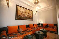 Salon - Riad Chafia - Marrakech