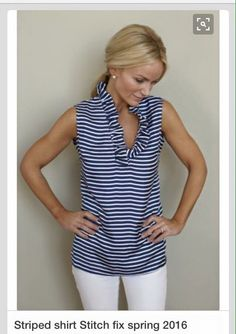 LOVE. That ruffle neck is amazing and would be perfect for me
