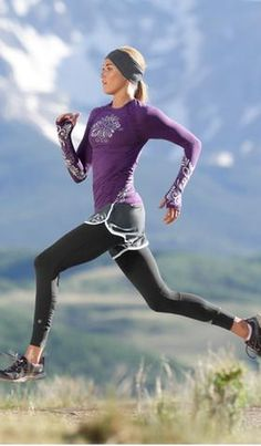 Shop by Sport: Run Outfit Ideas | Athleta............... Not the shorts with it~ Morgan