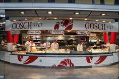 fresh seafood at #munich central station. frischer fisch im #Bahnhof? JA, beim #Gosch