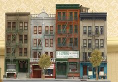 Storefronts by Ken Hamilton. Photo by Greg Shinnie