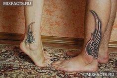 идеи татуировки крыльев