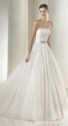 Wedding Dresses From The St. Patrick Bridal 2015 Glamour Collection