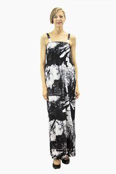 Ristomatti Ratia Espa Tuuli Maxi Dress Black/White