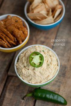 Jalapeno Hummus | this heart of mine