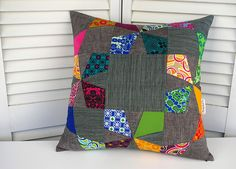 Cosmic Burst Pillow Cover by During Quiet Time (Amy), via Flickr