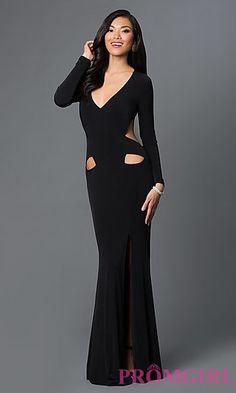 Inexpensive Long Black Dress