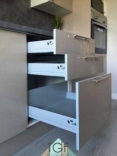 Cuisine par Tiffany Fayolle pour TGF décoration tiroirs coulisses planche tendance cuisine zen contemporaine moderne 2016 inspiration