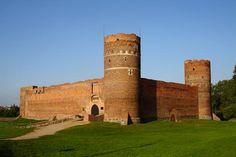 Ruiny zamku Książąt Mazowieckich w Ciechanów / The ruins of the castle of the Dukes of Mazovia in Ciechanów