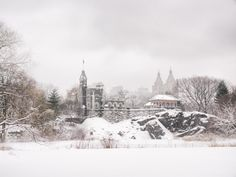 Central Park Winter- Belvedere Castle in the Snow - New York City by Vivienne Gucwa on 500px