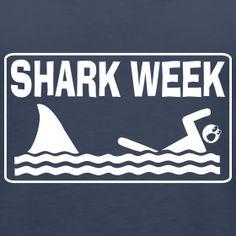 Shark Week Swimmer Women's Premium Tank Top ~ 2103