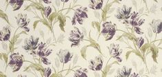 Laura Ashley Gosford Plum Curtain Material