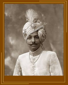 The 13th Ruler (king) Of Rajkot:H.H Thakore Saheb Dharmendrasinhji Of Rajkot.1930 - 1940.By Rohit Sonkiya