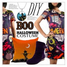 """DIY Halloween Costume 2"" by duma-duma ❤ liked on Polyvore featuring halloweencostume and DIYHalloween"