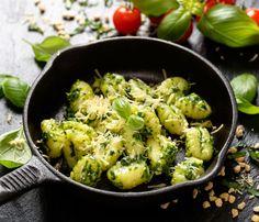 Zöldfűszeres gnocchi