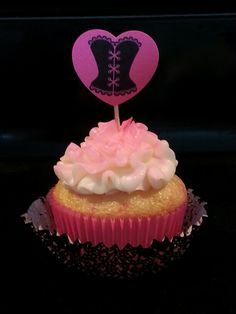 Lingerie shower cupcakes