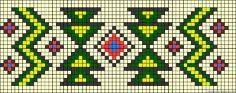 Wayuu Mochila pattern A495 - friendship-bracelets.net by lucy