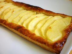 Jablkový koláč z lístkového cesta