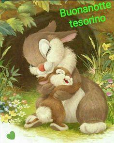 buonanotte tesorino coniglietto