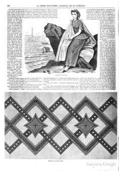 La Mode illustrée: journal de la famille 1864 : please note, this is a French publication.