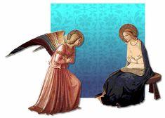La Anunciación - Fray Angélico.