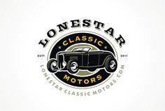 Lonestar Classic Motors Logo by scribe