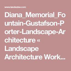 Diana_Memorial_Fountain-Gustafson-Porter-Landscape-Architecture «  Landscape Architecture Works | Landezine
