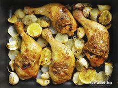 Fűszervajjal sült csirke citromos csicsókával - Receptek | Ízes Élet - Gasztronómia a mindennapokra