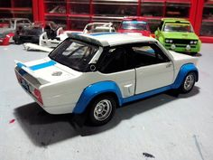 Caselli Model Transkit Burago 1/24 - FIAT 131 ABARTH