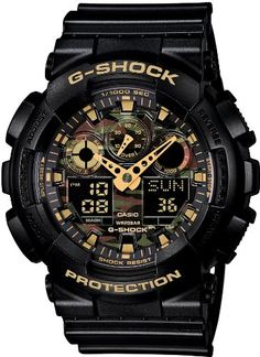 G-SHOCK Camouflage Dial Series  GA-100CF-1A9JF
