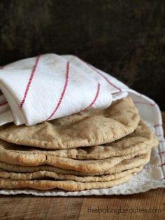 Gluten Free Pita Bread - The Baking Beauties