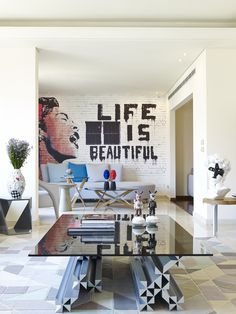 Leanna's project. Designed by Vick Vanlian.  #livingroom #livingarea #modernlivingroom #urban #pop