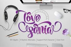 Love Sania by mr.rabbit on Creative Market