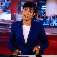 Reeta Chakrbarti - BBC 1, BBC News Channel.