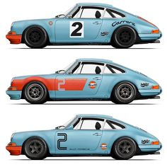 A few brilliant concepts by @djinguelian_for the modification of @RSWerks #Gulfblue RSR Inspired outlaw build that will be joining the P911R clan soon.