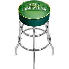 Trademark Gameroom Bud Light Lime-A-Rita Padded Swivel Bar Stool