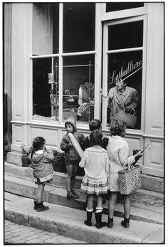Henri Cartier-Bresson FRANCE. 1968. Region of Burgundy. Saone-et-Loire departEment. City of Charolles.