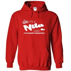 Its a Nila Thing, You Wouldnt Understand !! Name, Hoodi - #bridesmaid gift #gift amor. HURRY => https://www.sunfrog.com/Names/Its-a-Nila-Thing-You-Wouldnt-Understand-Name-Hoodie-t-shirt-hoodies-4131-Red-29525031-Hoodie.html?68278