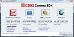 Screenshot about Ozeki Camera SDK.