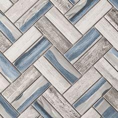 Shower Floor Tile, Bathroom Floor Tiles, Bathroom Tile Patterns, Kitchen Wall Tiles Design, Best Bathroom Flooring, Gray Shower Tile, Bathroom Tile Designs, Grey Wall Tiles, Blue Tiles