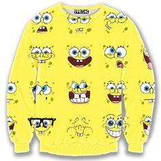 Alisister Cute spongebob top cartoon sweatshirt women clothes 3d print  Smile emoji men hoodies Yellow pullover O Neck-in Hoodies & Sweatshirts from Women's Clothing & Accessories on Aliexpress.com | Alibaba Group