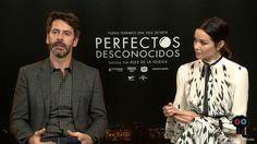 Entrevista a Eduardo Noriega y Dafne Fernández por 'Perfectos desconocidos'
