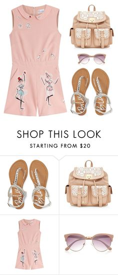 """Outfit Idea by Polyvore Remix"" by polyvore-remix ❤ liked on Polyvore featuring Aéropostale, RED Valentino and River Island"