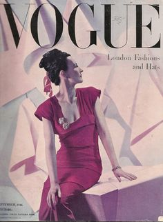 Photo by Cecil Beaton, Vogue UK, September 1946*